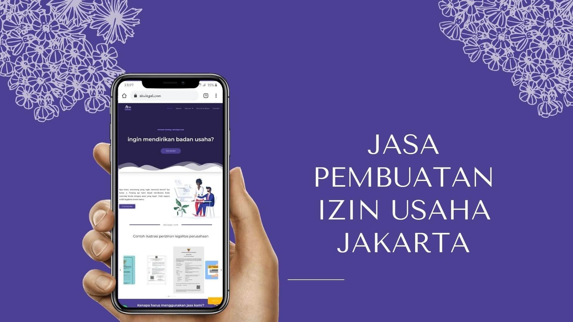 Jasa Pembuatan Izin Usaha Jakarta