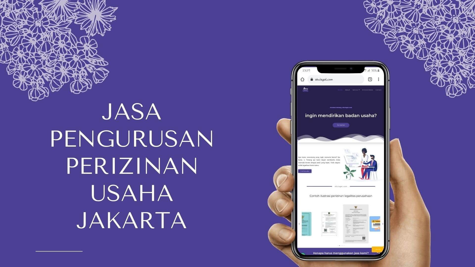 Jasa Pengurusan Perizinan Usaha Jakarta